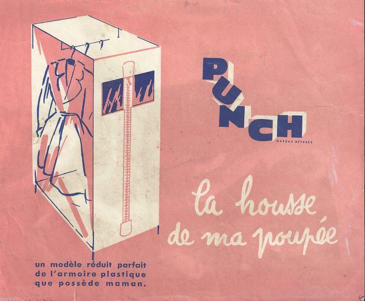 Publicité ancienne Punch Modèle réduit Armoire Plastique pour Vêtement de Poupée   Collections, Objets publicitaires, Publicités papier   eBay!