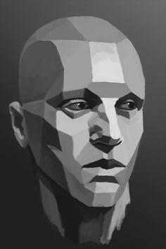 portrait texture tutorial - Buscar con Google