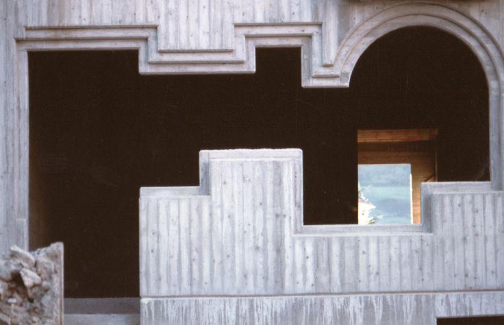 Architetture di Romano Botti - Ricostruzione di Balvano in Basilicata - con la collaborazione dell'architetto Kalina Eibl