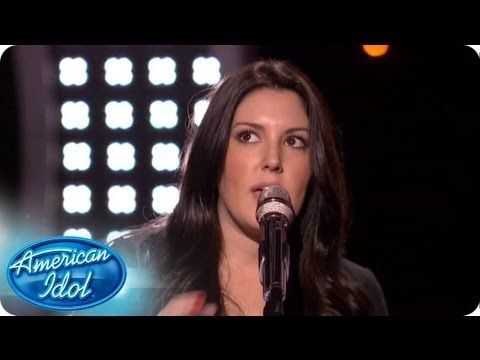 """Kree Harrison steps up to center stage for her chance to advance to the next round. Was her rendition of """"Stars"""" by Grace Potter & The Nocturnals enough to send her through? #idol #americanidol #hollywoodweek"""
