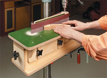Drill Press Edge Sander From Shopnotes #117 (Vol.20) (May-June 2011)