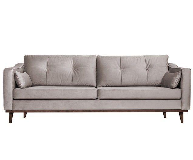 Sofa Z Aksamitu Alva 3 Osobowa Samt Sofa Sofa Und Sofa Design