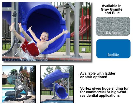 Sr smith vortex 107 spiral enclosed commercial swimming - Commercial swimming pool water slides ...