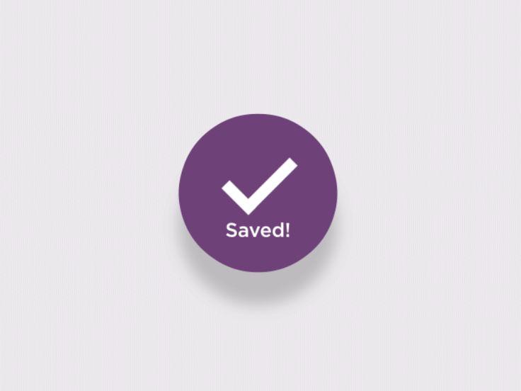 Favoriting User Interface Animation #GIF #UI