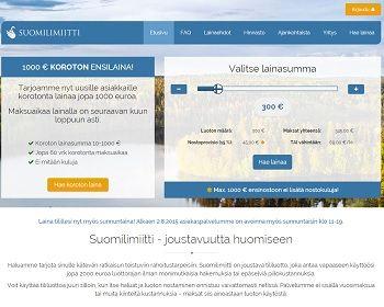 Suomilimiitti.fi - Lainaa 10 - 2000 euroa.