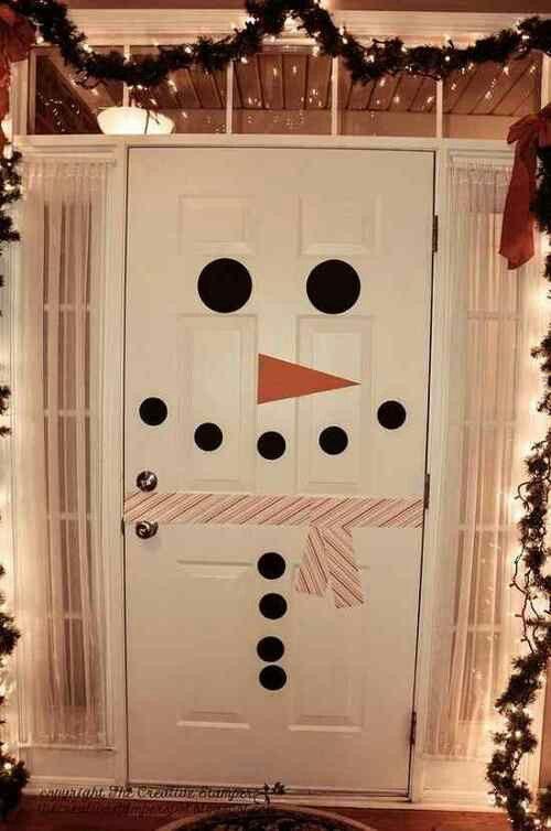 Holiday door decoration