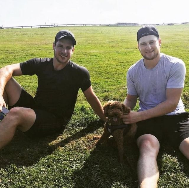 Sidney Crosby and Nathan MacKinnon in Cole Harbor, NS