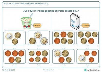 Ficha de decidir el precio exacto del azúcar para primaria