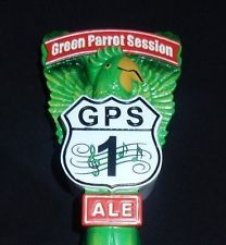 NEW GREEN PARROT SESSION ALE BEER TAP HANDLE KEY WEST FL US 1 FIRST LAST BAR GPS