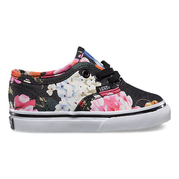 Toddlers Floral Authentic | Shop Toddler Shoes at Vans! Makinna needs these cute shoes.