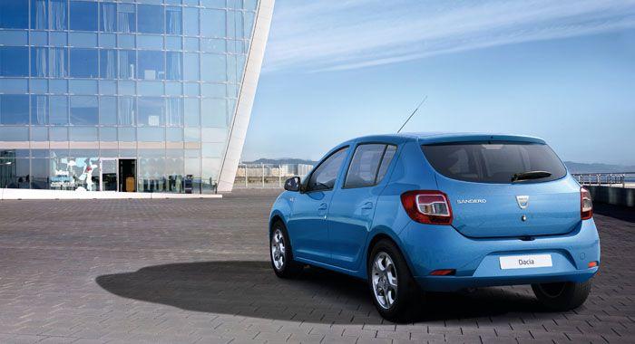 Solidność wykonania i fajny design - Dacia Sandero