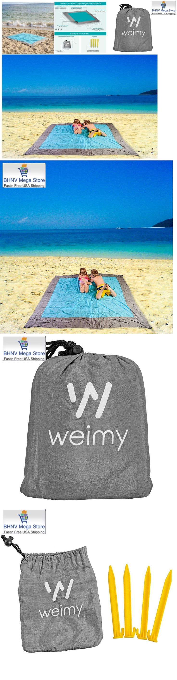 Canopies and Shelters 179011: Lightweight Compact Beach Picnic Mat Blanket Quick Drying Sand Free Waterproof -> BUY IT NOW ONLY: $36.9 on eBay!