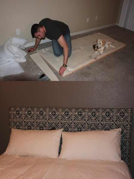43 best images about make your own headboard on pinterest Make your own headboard