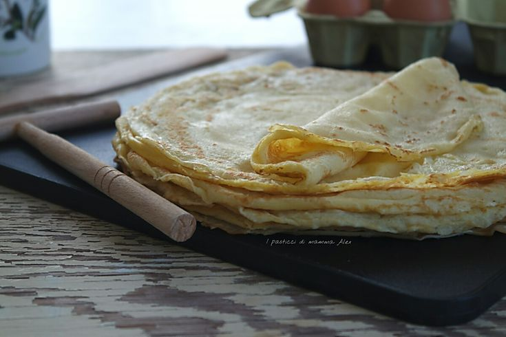 CREPES | ricetta base senza burro