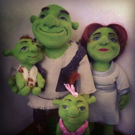 Shrek's family. 15.05.2015