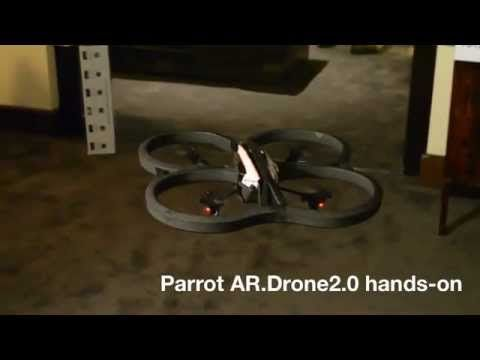 Parrot AR.Drone 2.0 [Hands-on][CES 2012][HD] - http://bestdronestobuy.com/parrot-ar-drone-2-0-hands-onces-2012hd/