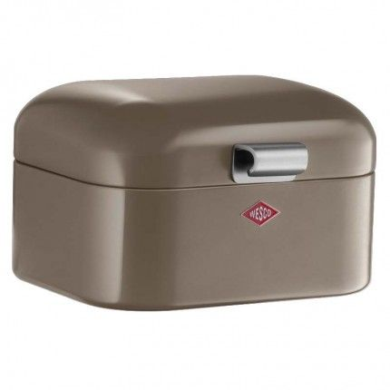 Wesco Mini Grandy - Warm Grey ideal bathroom storage.in a modern contemporary colour visit us today at kitchware www.homewareboutique.co.uk