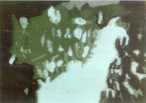 水面。2011年6月。OPAギャラリー「水景」展。