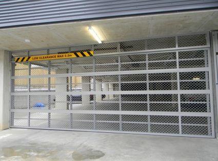 Eziroll Ezi Mesh Panel Aluminium Sectional - Best Doors