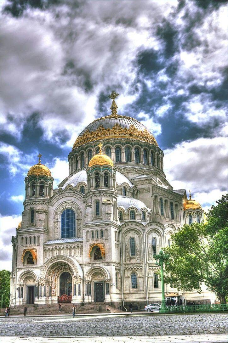 Фото морского собора в кронштадте