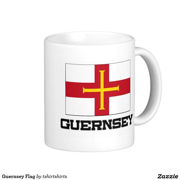 Guernsey Flag Classic White Coffee Mug