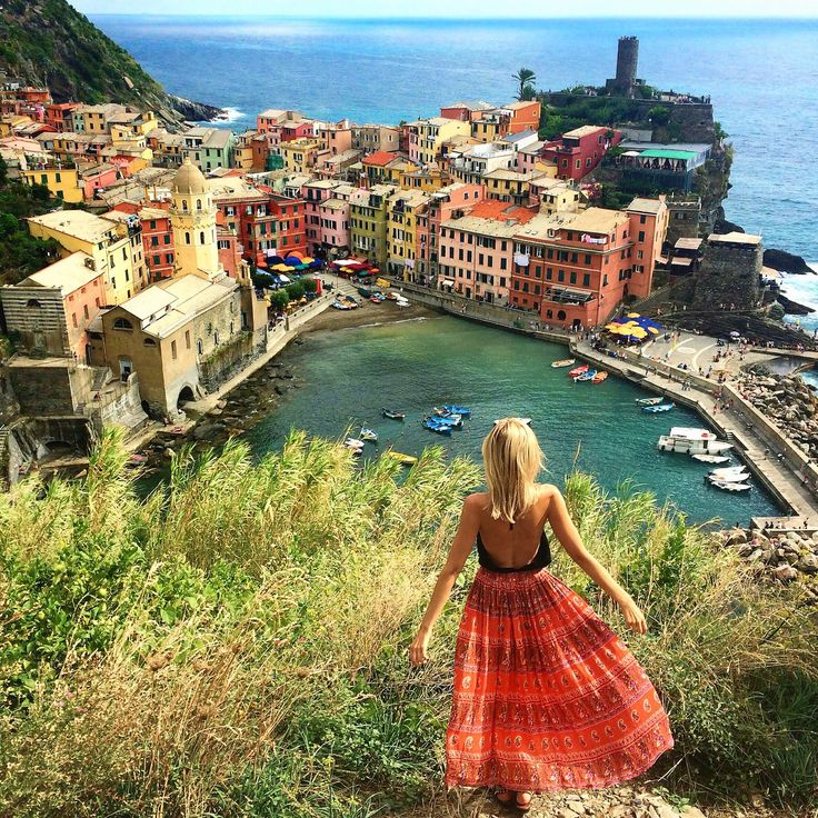 I first visited Cinque Terre, Italy in 2010. I previously stayed in a hostel in Riamagiorre, but this time chose to rent an apartment in romantic Manarola overlooking the town and vineyards. There are hundreds of stairs, overpacked trains that run on Italian time, the best pesto, pasta, pizza and gelato that I still dream about, with surreal sunsets over the colourful cliffside towns.