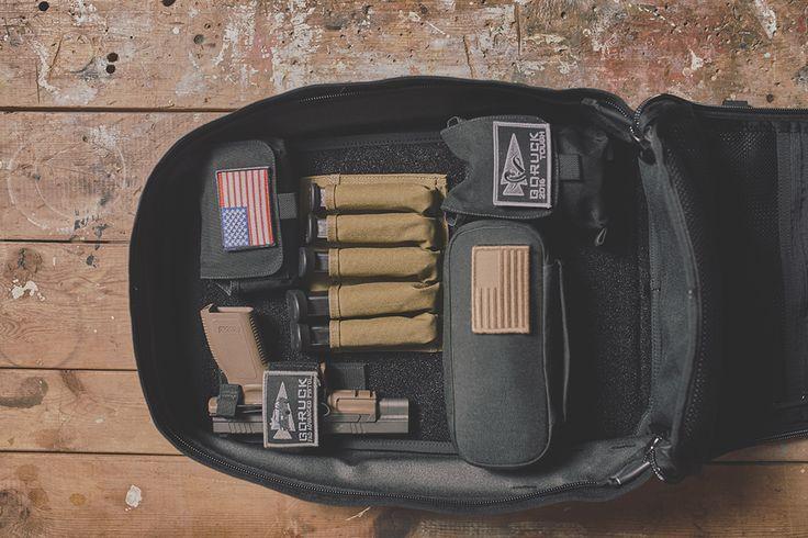 GR1 Shooter Rucksack (Black) - GORUCK