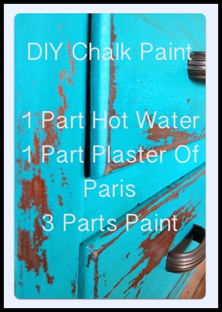 apprentice extrovert: Before And After: Vintage Dresser And DIY Chalk Paint