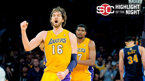 Thats why he played tough, he had a full grown man coming out his arm pits :D    #NBAplayoffs #NBA #Lakers #LOL