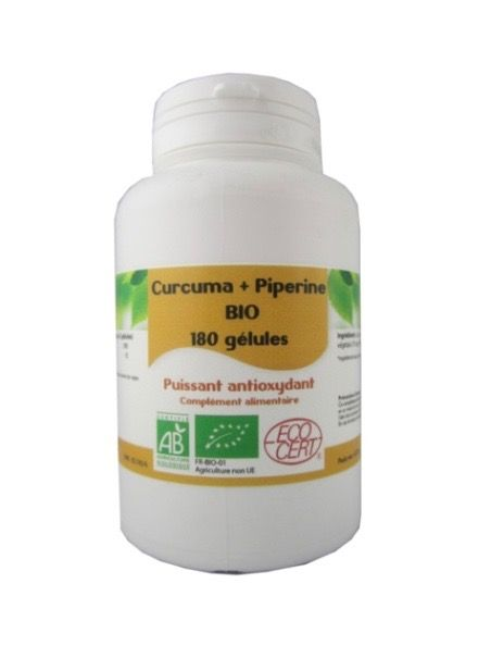 Curcuma et Piperine en gelules