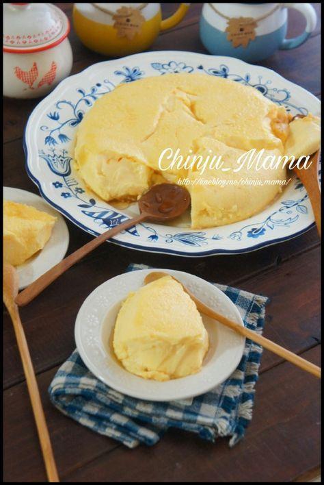 簡単【素朴な甘さ♡】カントリーピーナッツバタープリン