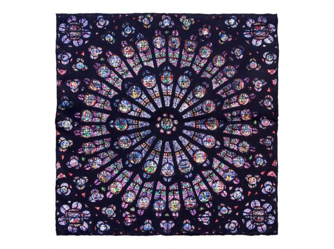 126 best pocket squares images on pinterest pocket for Rose window design