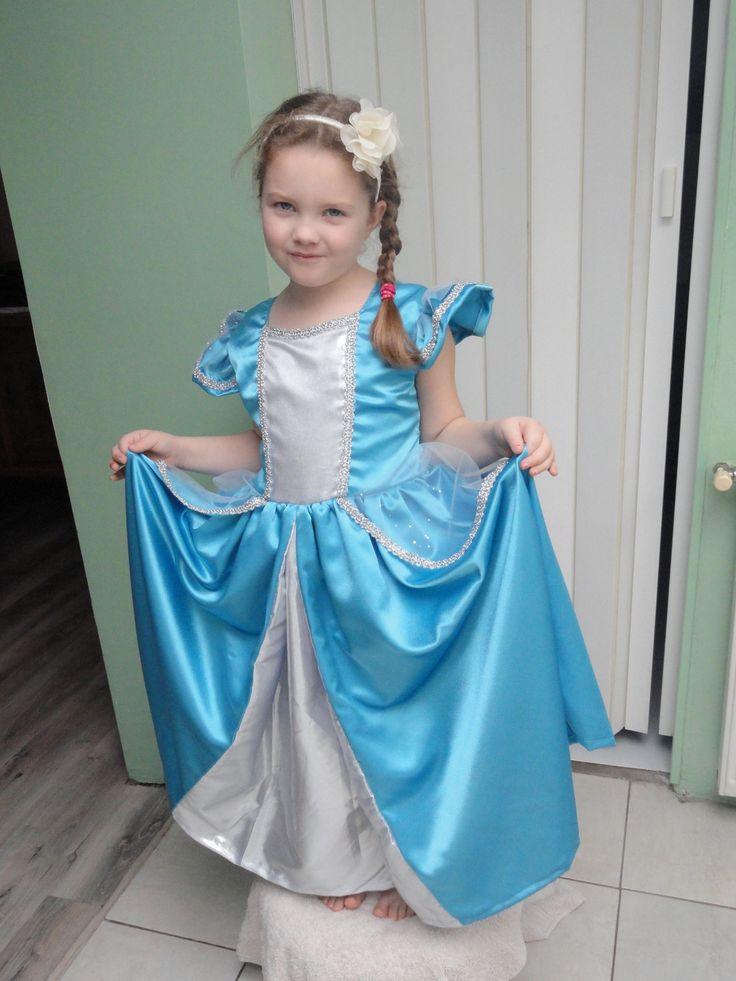 robe déguisement PRINCESSE CENDRILLON 2 A 12 ANS : Autres par les-demoiselles-de-lille