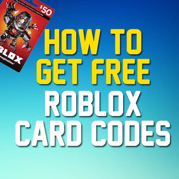 How to get free Roblox codes Free Roblox codes 2018 Free Robux codes