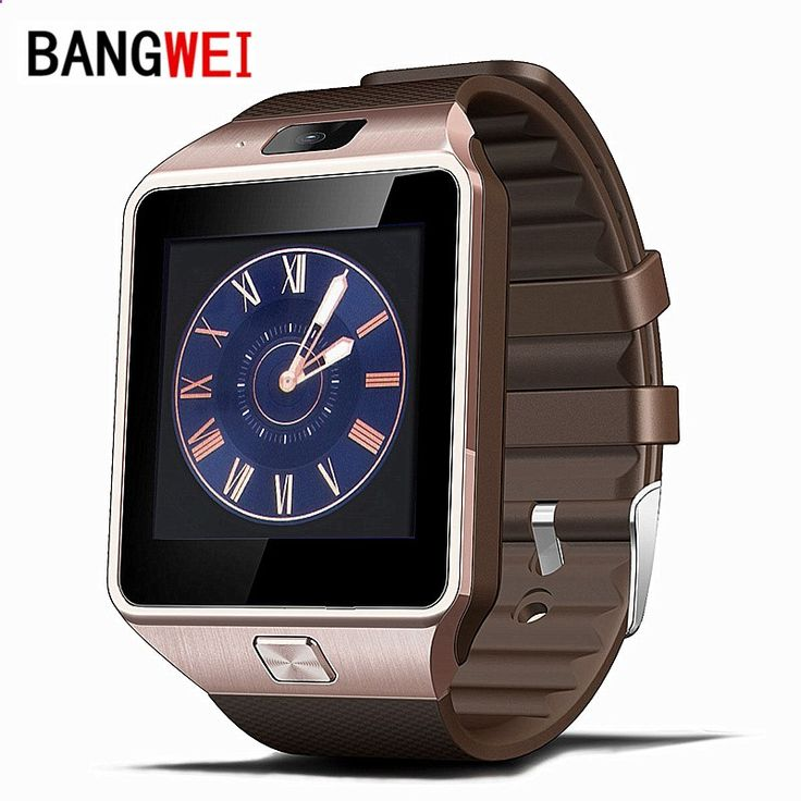 BANGWEI Smart Watch Clock With Sim Card Slot Push Message Bluetooth Connectivity Android Phone Better Than DZ09 Smartwatch #>=#>=#>=#>=#> Click on the pin to check out discount price, color, size, shipping, etc. Save and like it!