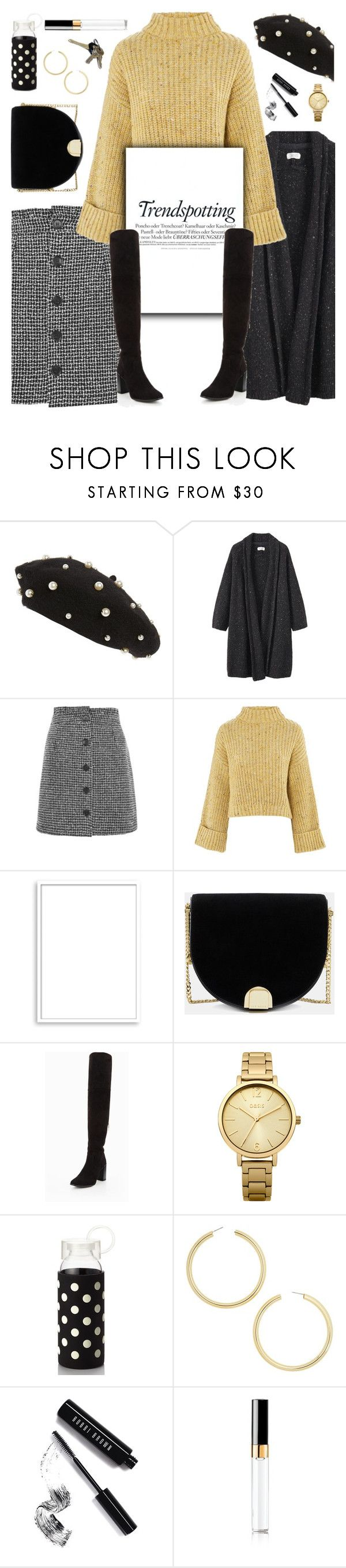 """""""Trendspotting: OTK Boots"""" by glamorous09 ❤ liked on Polyvore featuring Topshop, Toast, Bomedo, Melissa, Ted Baker, Avon, Oasis, Kate Spade, BaubleBar and Bobbi Brown Cosmetics"""