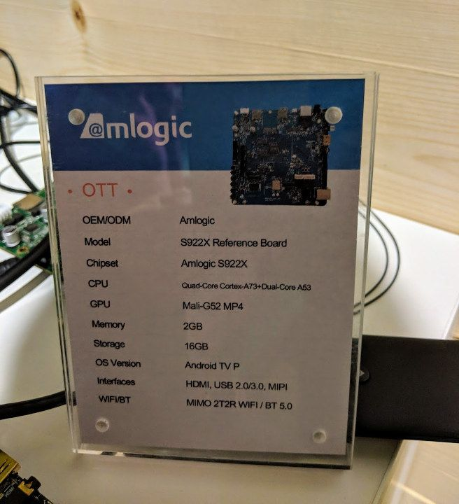 Amlogic S922X reference board | Android and Linux