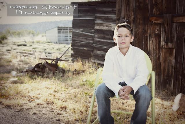 Photography - Teen Boy