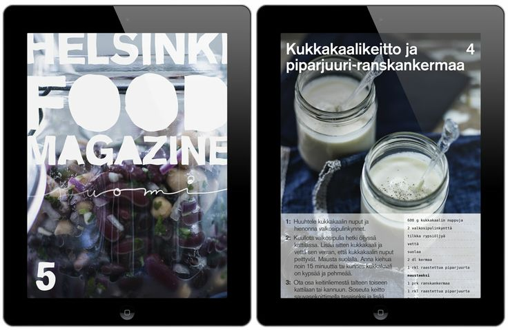 New issue of Helsinki Food Magazine is now available in AppStore/Newsstand (in english and in finnish). Seasonal simple food from Finland and Scandinavia... (And it works with iPads!)