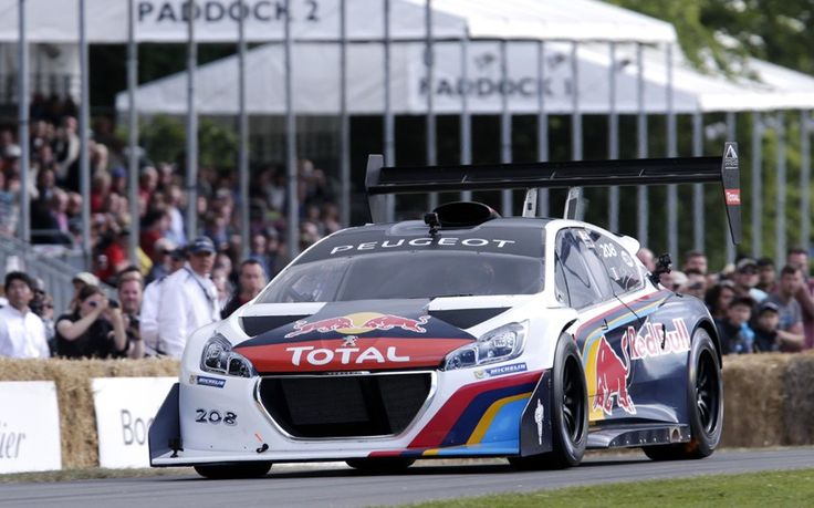 Goodwood Festival of Speed 2014: Loeb sets fastest time, but misses out on record - Telegraph