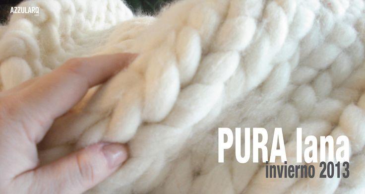 mantas & almohadones pura lana merino