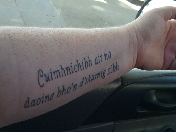 27 Incredible Gaelic Tattoos