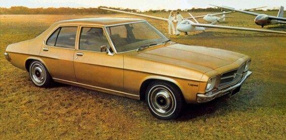 Had a gold HQ holden sedan (second car)