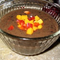 Calypso Black Bean Soup | Soup, Chowder, Chilli, Crockpot, Stew | Pin ...