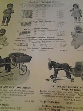 1939  Advert/Vintage Toys/Pedigree British Dolls/Donkey & Cart etc