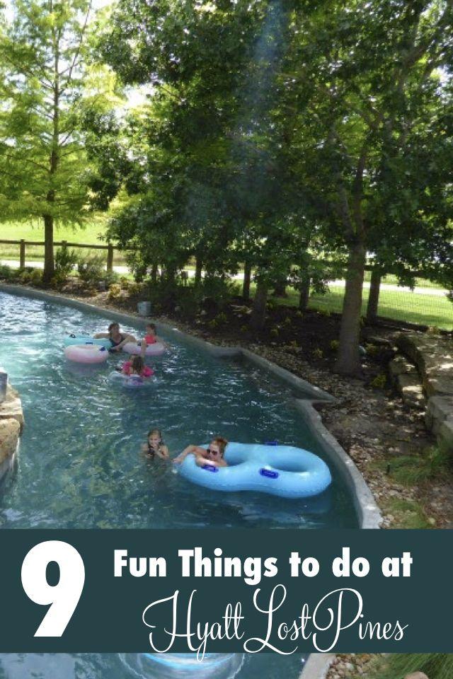 9 Fun Things to do at Hyatt Regency Lost Pines Resort in Austin, Texas
