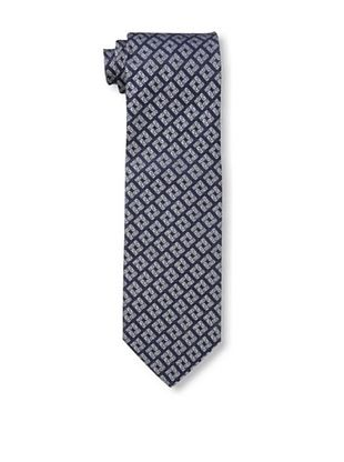 59% OFF Versace Men's Key Block Tie, Blue