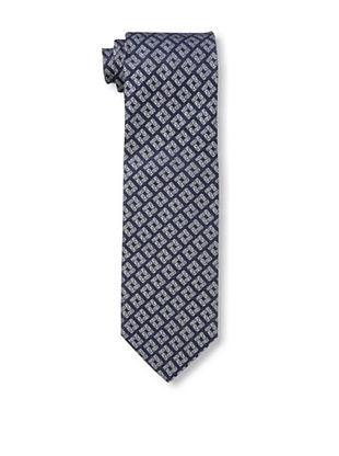 59% OFF Versace Men's Key Block Tie, Blue