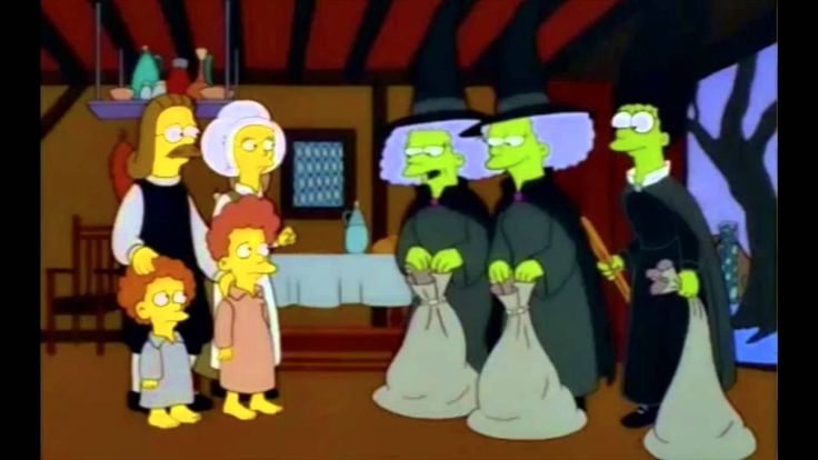 The Simpsons Marge Is A Witch Part 2 Of 2 Halloween