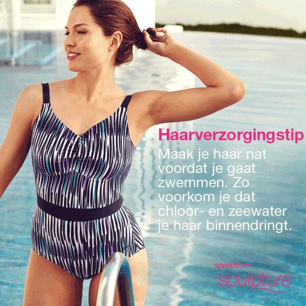 Voelt je haar droog na het zwemmen? #LoveYourSwim#Zwemmen #Haarverzorging#TipTuesday #Speedo